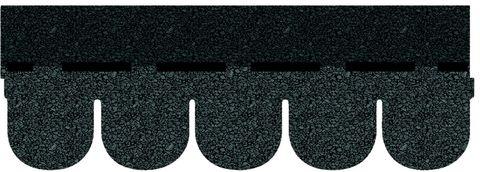 Onduline Bitumenschindel Biber Bardoline Pro 100x34 cm Schieferblau