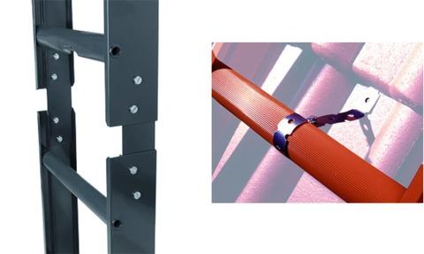 Geis&Knoblauch Leiternbefestigung für unteres Leiternende Edelstahl V2A