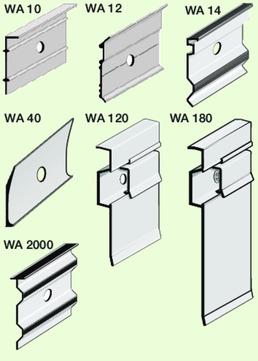 Bausysteme Pohl Terrassenprofil Deckschiene Aluminium