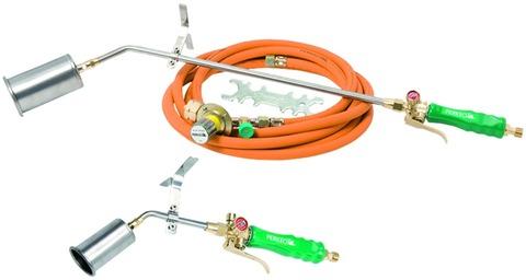 Perkeo Titan-Aufschweiß- und Anwärmbrenner 780/61/02/3/T Set mit 60 mm Brennerkopf