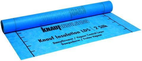 Knauf Insulation Dampfbremse LDS 2 Silk 1,5x50 m Blau