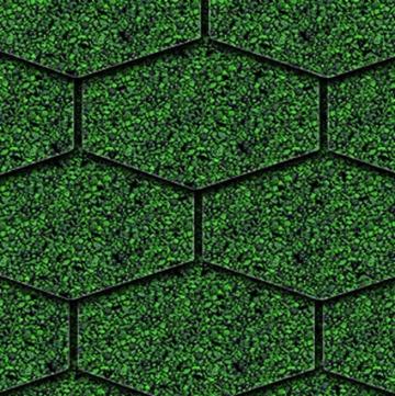 Onduline Bitumen Schindel S125 Dreieck Bardoline Pro 100x34 cm Unirot
