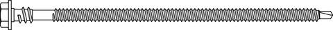 SFS intec Flachdachbohrbefestiger IR2 4,8x100 mm 500St/Pak ohne Teller Durocoat