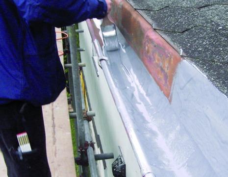VIA-DACHTEILE QuiTex R 2,50 kg Aluminiumgrau