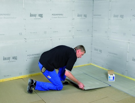 Knauf Aquapanel Bauplatte Floor 600x900x22mm Aquapanel CEMENT Board Floor