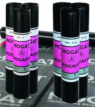 MOGAT Mogafix-KSK-D 1,00x10,0 m Dampfsperrbahn mit Doppel-Rand 1,5 mm