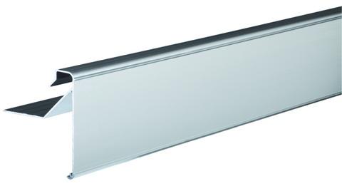 Lübke Dachrandprofil Combi Plus 100 mm 2-teilig, mit Verbinder und Klemmschiene Aluminium