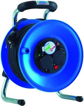 Hedi Kabeltrommel Primus 40 m K1Y40NTF, H07RN-F3G1,5 IPX4 Spritzwasser geschützt PVC