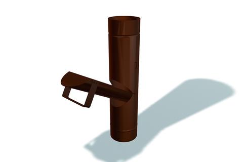 PRE 6tlg Regenrohrklappe 420mm ZROT