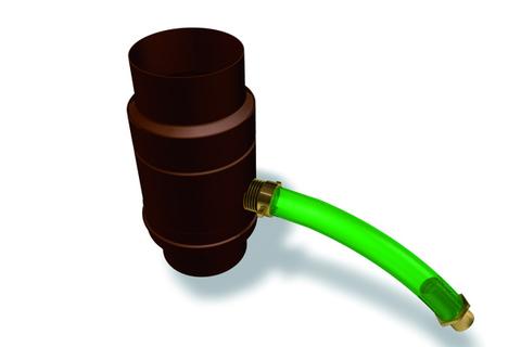 PREFA 6-teilige Wassersammler Nennweite 100 mm Anthrazit
