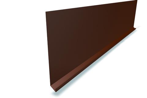 PREFA Einlaufblech 230x2000x0,70 mm glatt Anthrazit