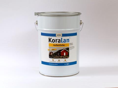 Obermeier Koralan Außenfarbe 10 l Weiß