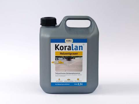 Obermeier Koralan Holzentgrauer 2,5 l PE-Kanister Farblos