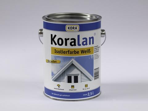 Obermeier Koralan Isolierfarbe 2,5 l Weiß