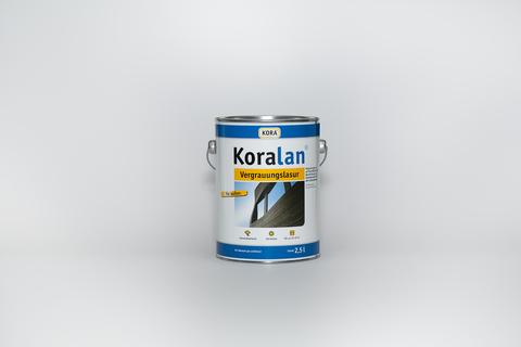 Obermeier Koralan Vergrauungslasur 2,5 l Basalt