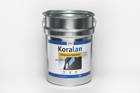 Obermeier Koralan Vergrauungslasur 20 l Quarz