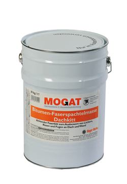 MOGAT Spachtelmasse Bitumen 10 kg Dachkitt