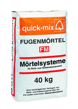Quick-Mix Fugenmörtel FM(Z20) 40 kg Grau