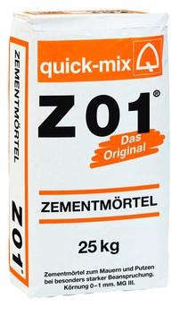 Quick-Mix Zementmörtel Z 01 40 kg