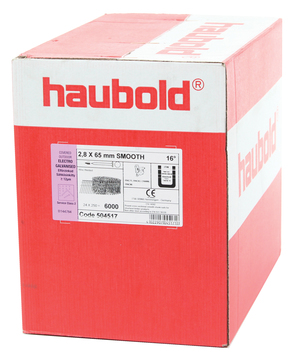 ITW Nagel 3,1x 90 mm CW glatt Nr. 504628 4050St/Pak Verzinkt