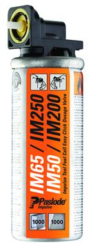 ITW Impulse Brennstoffpack Mini Nr.300341 mit gelbem Ventil 2 Stück Gelb
