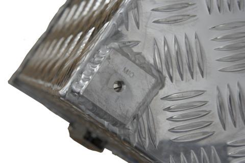 ATE Riffelblechbox R 312l      SIGR 1272x525x520 m.Verschlüssen u.Öse