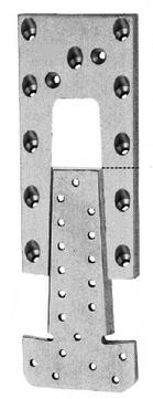 Simpson Passverbinder ETB90 ETA-07/0245 Aluminium