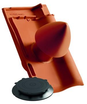 CREATON Futura Dunstrohr-Set DN100mm Großengottern Noblesse Braun glasiert
