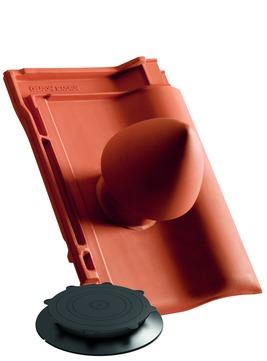 CREATON Magnum Dunstrohr-Set DN100mm Nuance Autenried Schwarz engobiert