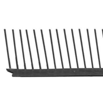 Klöber Traufenlüftungskamm 60 mm 1 m PVC Rot