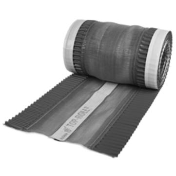 Klöber Top-Roll NG 310 mm/ 5 m mit Nagelband & Alu-Seitenstreifen Anthrazit