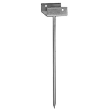 Klöber First-/Grathalter 50/180 mm Feuerverzinkt
