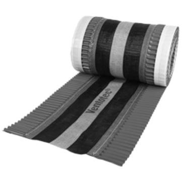 Klöber Ventotec NG 210 mm/5 m mit Alu-Seitenstreifen Rot