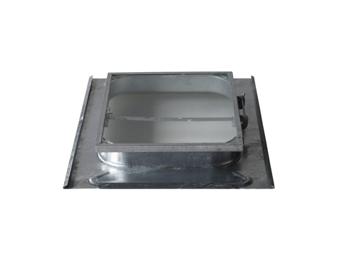 LempHirz Dachfenster Standard 45x55 cm nach oben Schiefer ESG Nr. 700 Feuerverzinkt