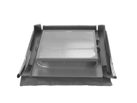 LempHirz Dachfenster Standard 45x55 cm beidseitig Alldach ESG Nr. 707 Graubraun