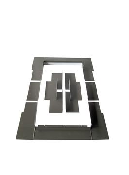 LempHirz Eindeckrahmen 55/78 cm Schichtstück für wingopan Wohnraumausstieg-tt