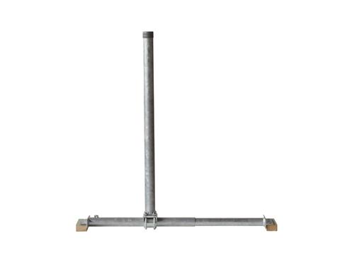 LempHirz Satelliten-Mast Standard Modell 50-85 48 mm für Satellitenschüssel Feuerverzinkt