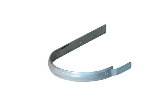 LempHirz 5-teilige Rinnenhalter halbrund 30x5 mm / 2-Feder Schenkel C1=340 mm gemäß EN und Fachregeln Feuerverzinkt