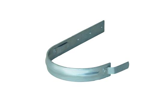 LempHirz 5-teilige Rinnenhalter halbrund 40x5 mm / 2-Feder Schenkel C1=340 mm gemäß EN und Fachregeln Feuerverzinkt