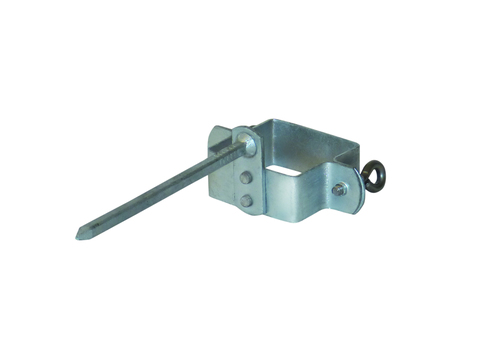 LempHirz 8-teilige Rohrschelle Kasten 60/60/140mm für Vierkantrohre Stiftlänge 140mm Verzinkt