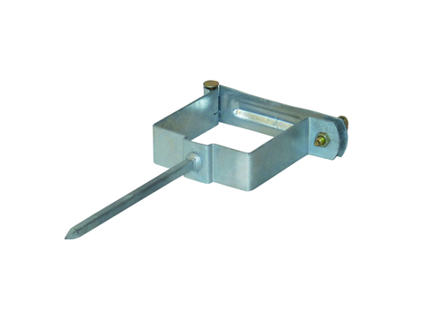 LempHirz 6-teilige Rohrschelle Kasten 80x 80 mm Stiftlänge 140 mm Verzinkt