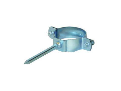 LempHirz 8-teilige Rohrschelle rund 70/80mm HT Stiftlänge 80mm für KA-/HT-Rohre Verzinkt