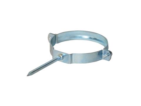 LempHirz 6-teilige Rohrschelle rund 100/100mm HT Stiftlänge 100mm für KA-/HT-Rohre Verzinkt