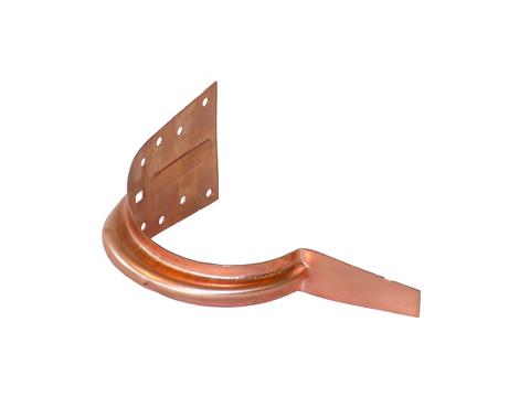 LempHirz 10-teilig Rinnenhalter für Stirnbrett Rinnenträger Kupfer