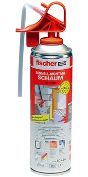 Fischer Deutschland Montageschaum 1k PU 1/500 500 ml