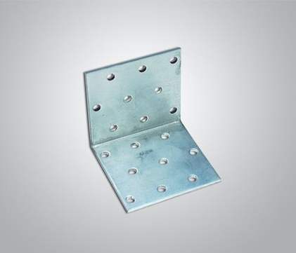IVT Lochplatte Winkel 80x 80x 80x2,5 mm Nr. 344 50St/Pak Sendzimirverzinkt