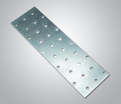 IVT Lochplatte 100x 300x2,0 mm 25St/Pak Sendzimirverzinkt