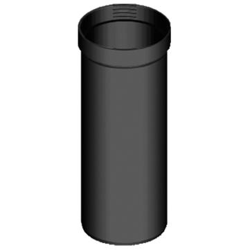 Klöber Unterschraubrohr DN100 für Schraubflansch Sanierungslüfter PVC