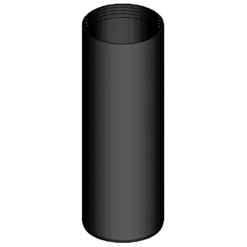 Klöber Unterschraubrohr DN100 für Schraubflansch Raumentlüfter PVC