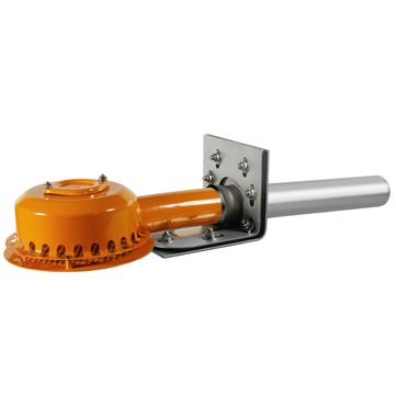 LOROWERK Drainjet Attika Notablauf 50 mm Nr. 01358. 050X 40 mm Klemmflansch für Kunststoff Edelstahl